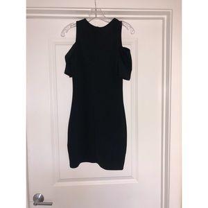 Black Cocktail Mini Dress!!